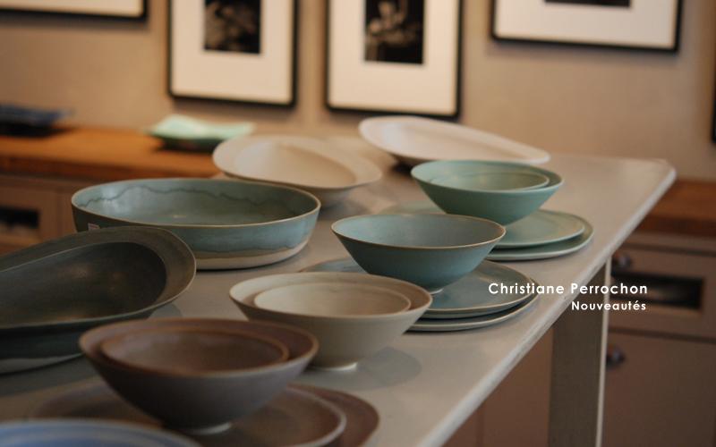 フランジュールのインポートアイテム、Christiane Perrochon 陶器