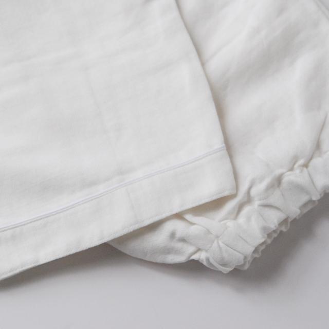 フランジュールのパジャマ。コットンとリネン。
