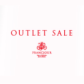 フランジュールのアウトレットセール。フランスなどのヨーロッパから届いたインテリアアイテム、子供服など。