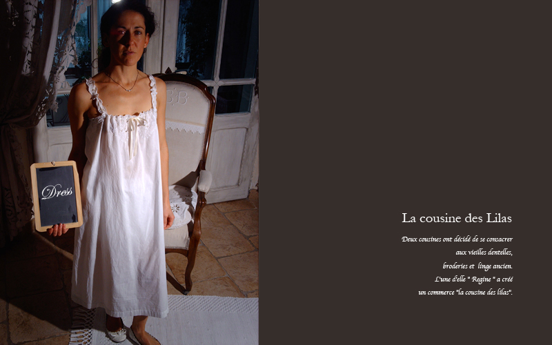 フランジュールのインポートアイテム、LA COUSINE DES LILAS