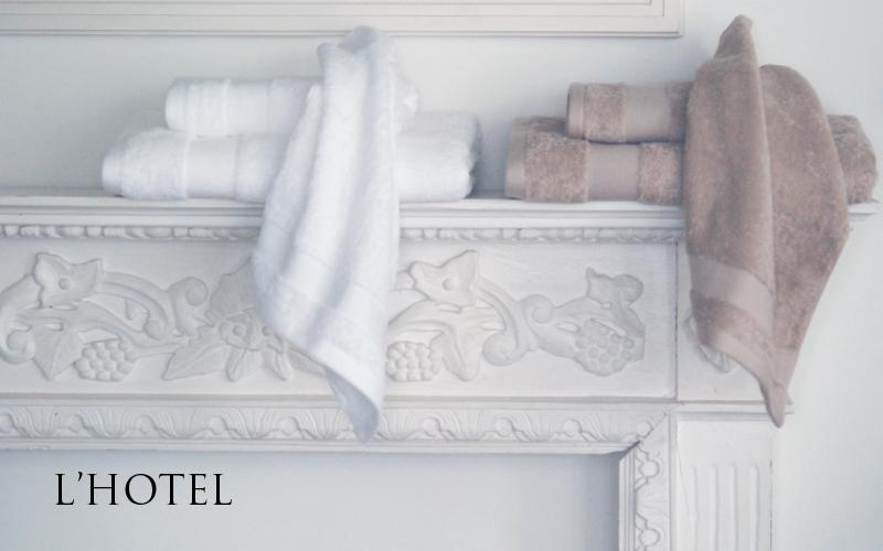 ロテルサンフォーキンコットン使用。ざっくりとした使い心地の良いタオルです。