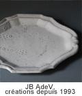 JB AdeV,créations depuis 1993 COLLCETION REGARDS Jean Baptiste Astier de Villatteの白い陶器