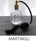 マルティノリのクリスタルガラス アトマイザー(香水瓶)Cote Bastide(コテバスティド)のトワレとも相性抜群です。